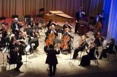 Orchestre de chambre de quatre saisons Image libre de droits
