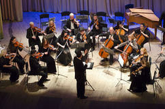 Orchestre de chambre de quatre saisons Photos libres de droits