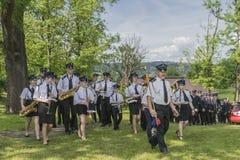 Orchestre de sapeur-pompier Image libre de droits