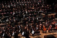 Orchestre de soirée musicale de Maggio à Florence, Italie Photos stock