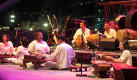 orchestre moderne gamelan de fusion photos stock