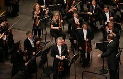 Orchestre nationaal DE Frankrijk, Parijs, kan 10, 2015 Royalty-vrije Stock Afbeeldingen