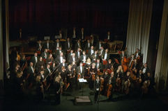 Orchestre symphonique Images libres de droits