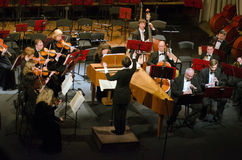 Orchestre symphonique photo stock