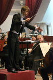 Orchestre symphonique Photographie stock libre de droits