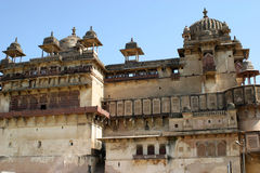 Orchha fort, india Royalty Free Stock Photo