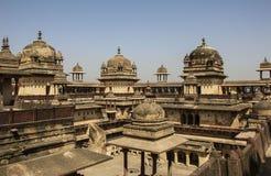Orchha fort Jahangir Mahal, Orchha, Madhya Pradesh, India. Orchha fort Jahangir Mahal, Orchha, state Madhya Pradesh, India Royalty Free Stock Image