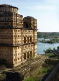Orchha masterpiece, india Royalty Free Stock Photo