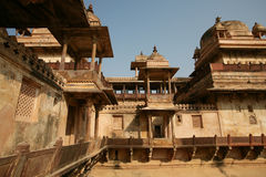 Orchha Palace india Royalty Free Stock Photography