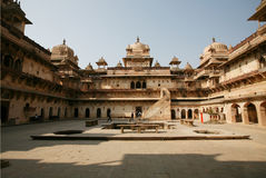 Orchha palace india Stock Images