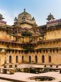 Orchha Palace, India. Detail of Jahangir Mahal, the Orchha Palace, India Royalty Free Stock Photo