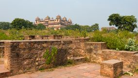 Orchha Palace, Madhya Pradesh. Also spelled Orcha, famous travel destination in India. Orchha Palace, Madhya Pradesh. Also spelled Orcha, famous travel Royalty Free Stock Photography