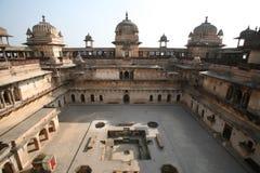 Orchha Palast Indien stockfotografie