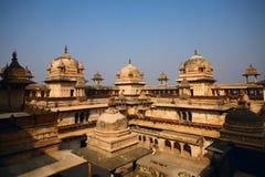 Orchha Palast Indien Stockfotos