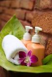 orchid σαπούνι Στοκ εικόνες με δικαίωμα ελεύθερης χρήσης