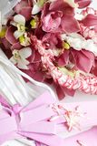 Orchid bouquet Royalty Free Stock Images