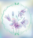 Orchid flower. This is Orchid flower design Stock Photo