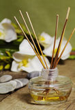 Orchid fragrance diffuser Royalty Free Stock Images