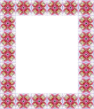 Orchid frame Royalty Free Stock Images
