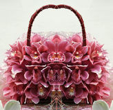 Orchid handbag 3 Royalty Free Stock Photo