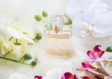 Orchid perfume Stock Photo