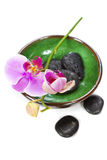 Orchid Spa Composition royalty free stock photography