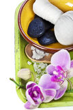 Orchid Spa Composition Stock Photo