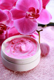 orchid wellness spa balsem Stock Afbeelding