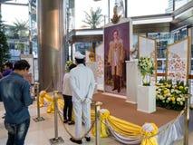 Orchidea 2014 di Bangkok del modello del Siam Immagini Stock