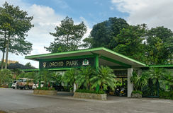 Orchidea park w Kuching Obrazy Stock