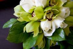 orchidea poślubić bukiet. Fotografia Royalty Free