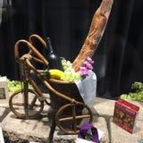 Orchidea z projektem rodzimi rzemiosła Obrazy Royalty Free