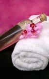 Orchidee-Badekurort-Massage Stockbild