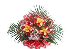 Orchidee del mazzo immagine stock