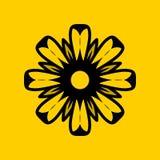 Orchidee Stevig Logo Design Royalty-vrije Stock Foto