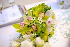 Orchideeboeket Royalty-vrije Stock Afbeeldingen