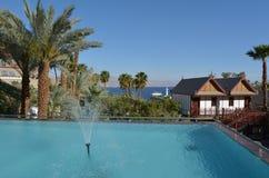 Orchideehotel en Toevlucht in Eilat, Israël Royalty-vrije Stock Afbeelding