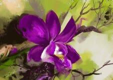 Orchideenblumen - Archivbild Stockbild