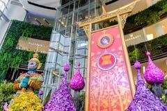 Orchideeparadijs Stock Foto's