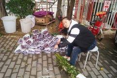 orchids αγοράς της Hong λουλουδιών kok kong mong Στοκ εικόνα με δικαίωμα ελεύθερης χρήσης