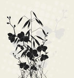 Orchids and oats stock illustration