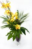 Orchids in the vase Stock Image