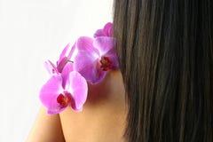 orchidsterapi Arkivbilder