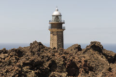 Orchilla lighthouse Royalty Free Stock Photography