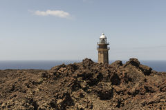 Orchilla lighthouse Stock Images