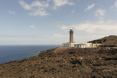 Orchilla lighthouse Royalty Free Stock Image