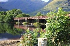 Orchy Viaduct bridge in the Loch Awe, Argyll, highlands of Scotland. Orchy Viaduct bridge in the Loch Awe, Argyll in highlands of Scotland Stock Photo
