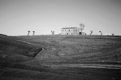 ` Orcia de Val d em Toscânia, Itália Fotos de Stock Royalty Free