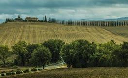 Orcia del ` di Rocca D della La Fotografia Stock