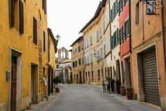 ` Orcia, Siena di San Quirico d Immagine Stock